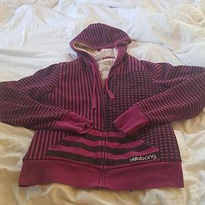 Billabong zip up hoodie
